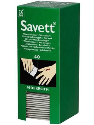 Afbeeldingen van Savett 3227/6372 Wondreiniger | navulling