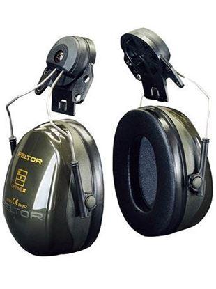 Afbeeldingen van Peltor Gehoorbeschermers Optime II H520P3E | helmbevestiging