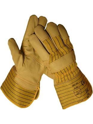 Afbeeldingen van Werkhandschoen Meubelleer | maat 10 (L)