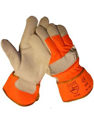 Afbeeldingen van Werkhandschoen Boxleder | maat 11 (XL)