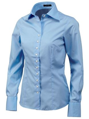 Afbeeldingen van Tricorp Dames-Overhemd Fashion-Fit 705003 (CLF6000)