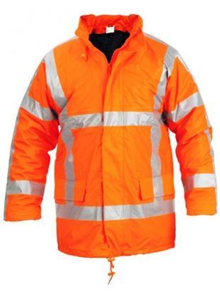 Afbeeldingen van Safeworker Signaal-Regenparka Puflex RWS