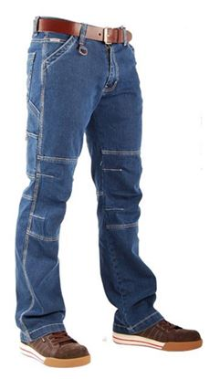 Afbeeldingen van CrossHatch Werkbroek Toolbox Stretch Denim