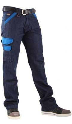 Afbeeldingen van CrossHatch Werkbroek Toolbox-Corporate Denim