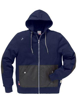 Afbeeldingen van Fristads Kansas Hooded Sweater Vest Gen Y 7783 LYS 110309