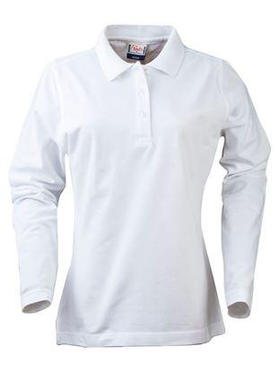 Afbeeldingen van Printer Essentials Poloshirt Surf LS 2265012 | dames